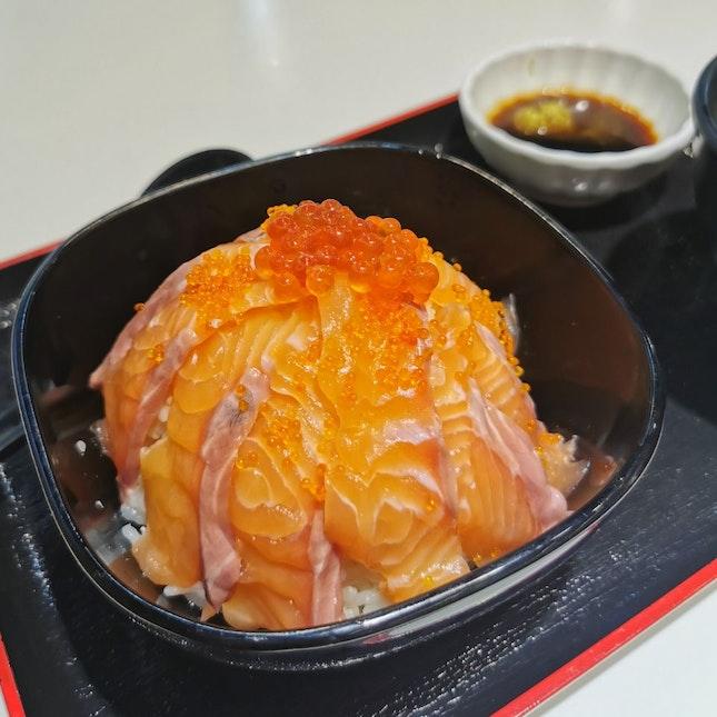Salmon Ikura Don And Salmon Mentai Don ($25 Set)