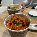 Spicy Chicken & Sesame Chicken Bibimbap