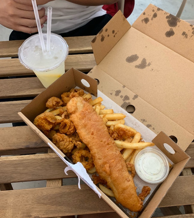 Dory Fish And Chips ($12.90)