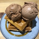 Double Scoops With Waffles ($12.30)