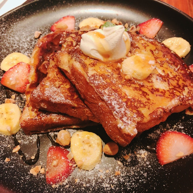 Nutella French Toast (RM 19)