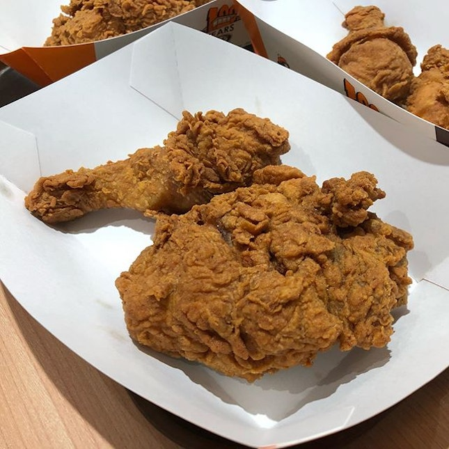 🐰Golden Aroma Chicken (S$8.90 for combo, S$2.40 for ala carte per piece).