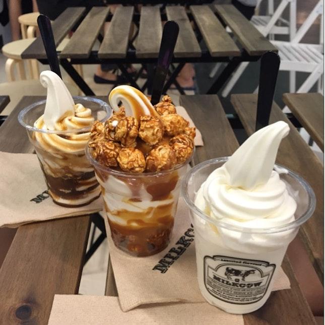 For Milky Soft Serve Ice Cream