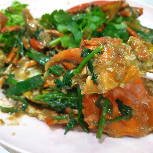 Best White Pepper Crab in Singapore