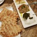 3 Dips And Fresh Grilled Pita