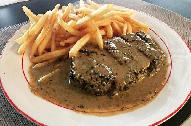 Trimmed Entrecôte Steak ($34.90++)