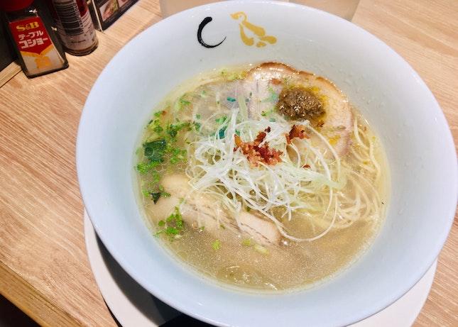 Shio Hamaguri Soup Ramen ($14.90++)