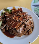 I never quite fancied duck rice both in roasted or braised forms.