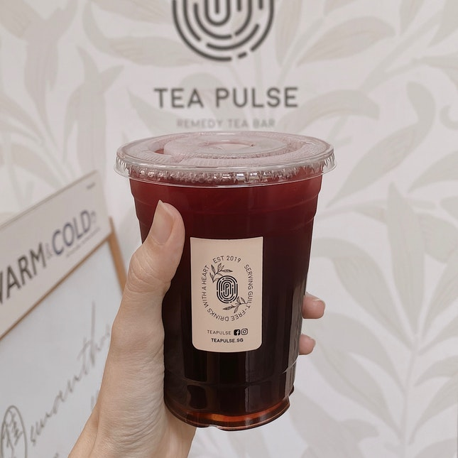 hibiscus hawthorn lemonade w earl grey jelly ($5.60)