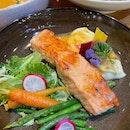Miso Salmon & Pasta
