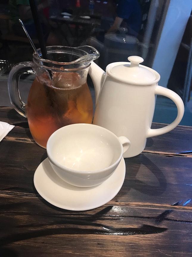 Ice Tea Peach And Camomile Tea