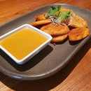 Fried Plantain With Mangi Chilli Marmalade