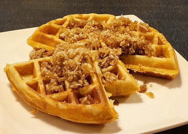 Ondeh Waffle ($9)
