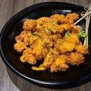 Laksa Popcorn Chicken ($14++)