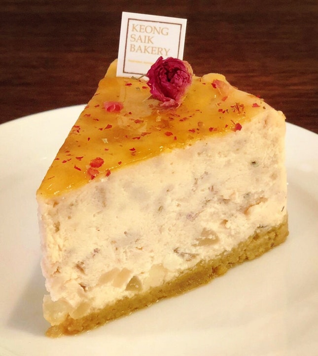Attap Chee Rose Cheesecake ($6.80)