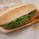 [NEW] Chilli Crab Long Chicken Burger ($5.90)