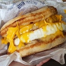 Sausage McGriddle with Egg ($5.40)