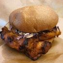[NEW] Tandoori Chicken Burger ($18.90)