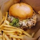 The Famous Har Jeong Kai Burger ($18.90)