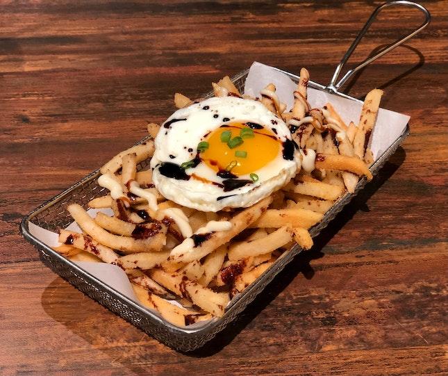 Indomie Loaded Fries ($5.90)