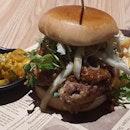 Chicken Satay Burger ($17++)