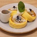 Pineapple Tapioca Souffle Pancake ($12.80)