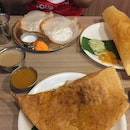 Apam, Cheese Dosa and Paper Dosa