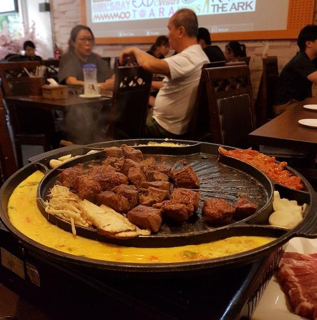 Beef And Pork Bbq Platter