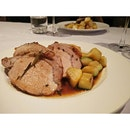 Fennel and Chilli Roasted Pork Loin With Potato Gratin