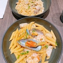 Pasta lunch