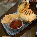Beef Briyani Burritos