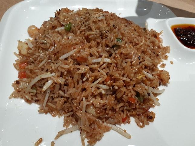 Fried rice with seafood XO sauce