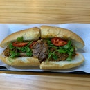 Roast Beef & Cheese Banh Mi