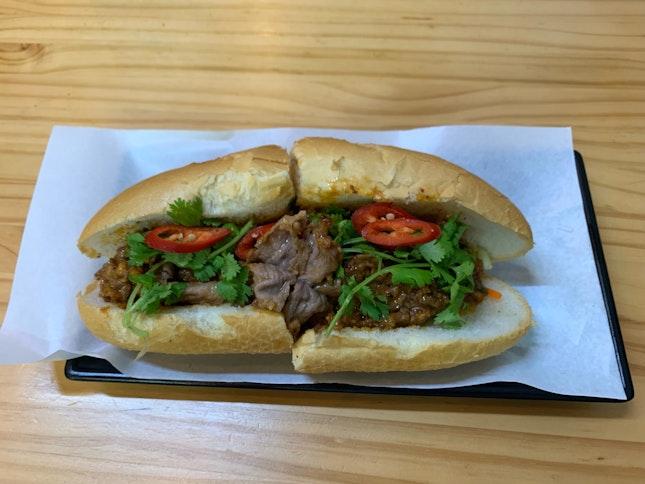 Roast Beef & Cheese Banh Mi