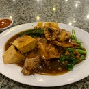 Fried Yong Tau Fu With Gravy