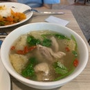 Herbal Chicken With Fish Maw Soup