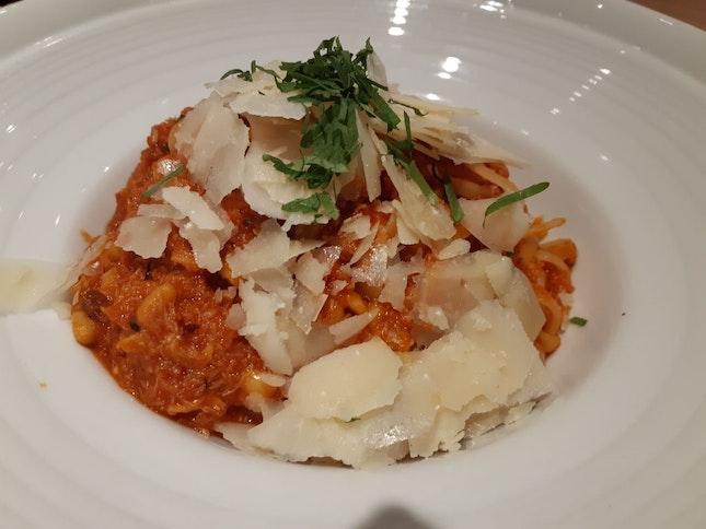Spicy Crabmeat Linguine