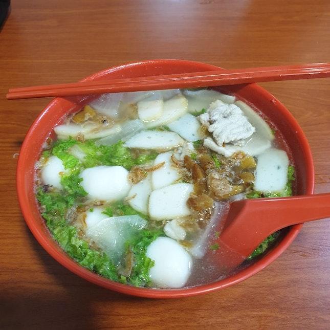 Kuay Teow Soup (果条汤)