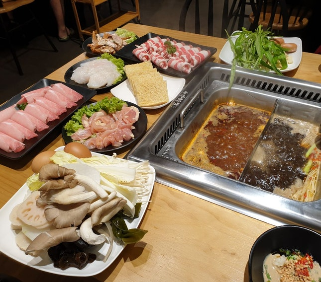 Hot Pot Dinner Buffet ($32.80)