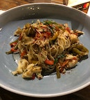 [Main Dish] Capellini Crabmeat ($26)