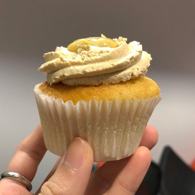 Durian Pengat Cupcake
