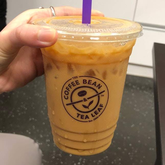 Cold Brew Vanilla Bean Latte ($7.50 -10% Staff Discount)