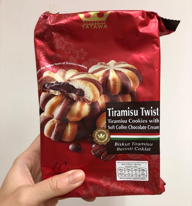 Tiramisu Twist Biscuit
