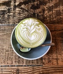 Matcha Latte (Hot, $5.50)