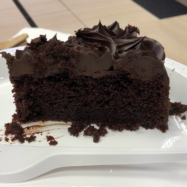 Dark Chocolate Olive Oil Cake ($60 Whole Cake)