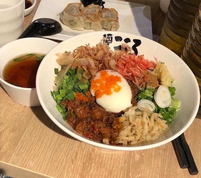 Spicy Sakura Ebi Mazesoba (Regular, $13.80)