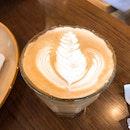 Salted Caramel Latte ($5.50)
