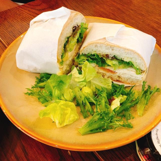Rosemary Chicken Sandwich ($12)