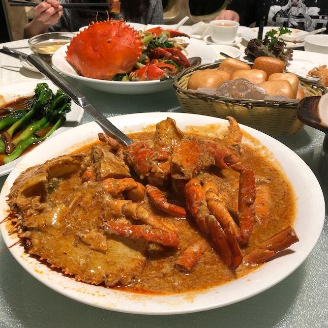 Chilli Crab & White Pepper Crab (Sri Lankan Crab, Seasonal Price)