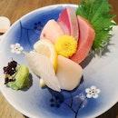 Sashimi is fresh and good